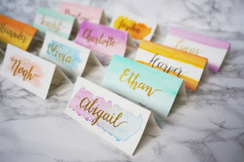 Watercolour_Place_Cards_Various